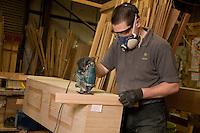 Coffin makers Steve Soult Ltd of Kirkby-in-Ashfield
