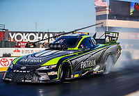 Jul 28, 2017; Sonoma, CA, USA; NHRA funny car driver Alexis DeJoria during qualifying for the Sonoma Nationals at Sonoma Raceway. Mandatory Credit: Mark J. Rebilas-USA TODAY Sports