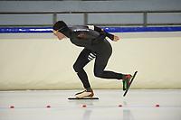 SCHAATSEN: HEERENVEEN: 06-10-2018, IJsstadion Thialf, KNSB trainingswedstrijd, ©foto Martin de Jong