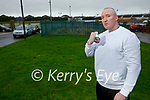 James Coffey from Tralee who has done a 5k walk a day and raised fund for Crumlin Hospital.