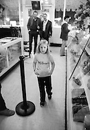 Children work as waiters at C.C. Browns ice cream parlor on Hollywood Boulevard, CA - Child labor as seen around the world between 1979 and 1980 – Photographer Jean Pierre Laffont, touched by the suffering of child workers, chronicled their plight in 12 countries over the course of one year.  Laffont was awarded The World Press Award and Madeline Ross Award among many others for his work.