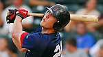 10 Aug 2007: Lars Anderson of the Greenville Drive, Class A South Atlantic League affiliate of the Boston Red Sox, in a game against the Delmarva Shorebirds at West End Field in Greenville, S.C.