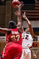 SAN ANTONIO, TX - NOVEMBER 29, 2008: The Arkansas State University Red Wolves vs. The University of Texas at San Antonio Roadrunners Women's Basketball at the UTSA Convocation Center. (Photo by Jeff Huehn)