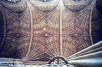 King's Chapel, Cambridge--vaulted ceiling.