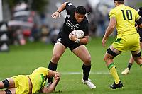 22nd May 2021; Grammar Tec, Auckland New Zealand; All Blacks Sevens versus Australia, Trans-Tasman Sevens;  Caleb Clarke.