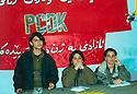 Iraq 2003.Conference of PCDK in Qandil<br /> Irak 2003. Conference du PCDK a Qandil