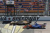 James Hinchcliffe, Schmidt Peterson Motorsports Honda,Scott Dixon, Chip Ganassi Racing Honda