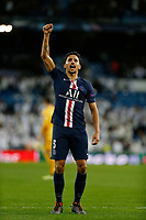 Marquinhos of PSG after UEFA Champions League match, groups between Real Madrid and Paris Saint Germain at Santiago Bernabeu Stadium in Madrid, Spain. November, Tuesday 26, 2019.(ALTERPHOTOS/Manu R.B.)<br /> Champions League 2019/2020  <br /> Real Madrid - PSG Paris Saint Germain <br /> Foto Alterphotos / Insidefoto <br /> ITALY ONLY