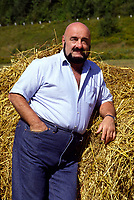 Undated File Photo circa 1986 - EXCLUSIVE -<br /> <br />  Former wrestler Maurice '' Mad Dog'' Vachon exclusive photoshoot near his home south of Montreal, before his 1987 accident when he lost a leg.<br /> <br /> Vachon died  November 21, 2013.<br /> <br /> PHOTO : Agence Quebec Presse - Pierre Roussel