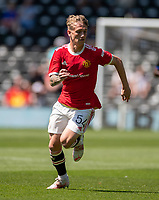 18th July 2021; Pride Park, Derby, East Midlands; Pre Season Friendly Football, Derby County versus Manchester United;  Ethan Galbraith of Manchester United