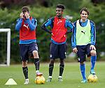 Andy Halliday, Gedion Zelalem and Gai Assulin