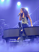 Alicia Keys live in concert at Nokia Theatre on April 2, 2010 in Grand Prairie, TX.