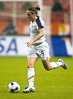 USA forward (9) Heather O'Reilly. The United States (USA) defeated Nigeria (NGA) 1-0 during their Group B first round game at Hongkou Stadium in Shanghai, China on September 18, 2007.
