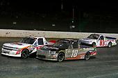 #12: Ty Dillon, Young's Motorsports, Chevrolet Silverado and #18: Noah Gragson, Kyle Busch Motorsports, Toyota Tundra Safelite AutoGlass