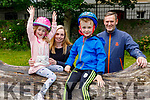 The O'Shea family from Tralee enjoying the Tralee Town Park on Sunday.<br /> L to r: Laura, Rosie, Jack and DanO'Shea