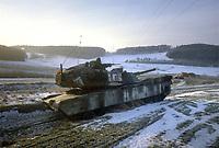 """- US Army,  M 1 """"Abram""""  tank during  NATO exercises in Germany<br /> <br /> - US Army, carro armato M 1 """"Abram"""" durante esercitazioni NATO in Germania"""
