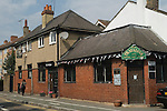 The Trafalgar pub in Merton London Wimbledons oldest pub, across the road from the Nelson Gardens.