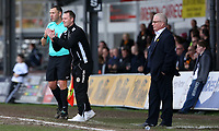 Newport manager Michael Flynn applauds Mickey Demetriou of Newport County after scoring his sides first goal during the Sky Bet League Two match between Newport County and Crawley Town at Rodney Parade, Newport, Wales, UK. Saturday 03 April 2016