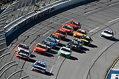 #2: Tyler Reddick, Richard Childress Racing, Chevrolet Camaro Roland and #20: Christopher Bell, Joe Gibbs Racing, Toyota Supra Rheem-Johns Mansville