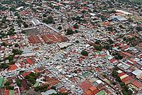 aerial photograph of Managua, Nicaragua| fotografía aérea de Managua, Nicaragua