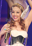 Kylie Minogue performs on her Aphrodite World Tour at the Patriot Center in Fairfax, Virginia April 30, 2011..Copyright EML/Rockinexposures.com.