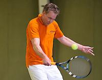 March 7, 2015, Netherlands, Hilversum, Tulip Tennis Center, NOVK, Gert-Jan Kortman (NED)<br /> Photo: Tennisimages/Henk Koster