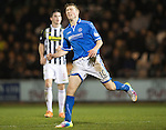 St Mirren v St Johnstone...25.03.14    SPFL<br /> David Wotherspoon reacts to a missed shot<br /> Picture by Graeme Hart.<br /> Copyright Perthshire Picture Agency<br /> Tel: 01738 623350  Mobile: 07990 594431