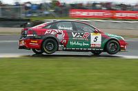 Round 9 of the 2007 British Touring Car Championship. #5 Fabrizio Giovanardi (ITA). VX Racing. Vauxhall Vectra.