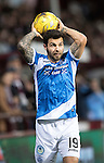 Hearts v St Johnstone…05.11.16  Tynecastle   SPFL<br />Richie Foster<br />Picture by Graeme Hart.<br />Copyright Perthshire Picture Agency<br />Tel: 01738 623350  Mobile: 07990 594431