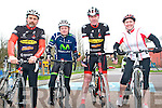 Kerry Crusaders Cycling Club Scenic Challenge: Taking part in the Kerry Crusaders Cycling Club Scenic Challenge on Sunday last were Gary Buckley, Anthony Scanlon, Michael Culhane & Theresa Grimes, Listowel.