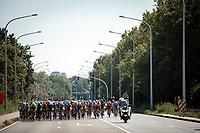 wide peloton. <br /> <br /> 94th Schaal Sels 2019<br /> One Day Race: Merksem  >  Merksem  (UCI 1.1)<br /> ©kramon