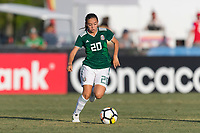 Bradenton, FL - Sunday, June 12, 2018: Aylin Avilez during a U-17 Women's Championship Finals match between USA and Mexico at IMG Academy.  USA defeated Mexico 3-2 to win the championship.