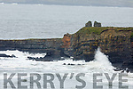 Bromore Cliffs in Ballybunion which have being damaged by the last few storms on Tuesday