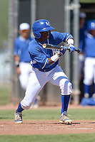 Kansas City Royals second baseman D.J. Burt (26) during an Instructional League game against the NC Dinos on October 3, 2014 at Peoria Sports Complex in Peoria, Arizona.  (Mike Janes/Four Seam Images)