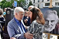 Anne HIDALGO - Inauguration Place Georges Moustaki - 23/5/2017 - Paris - France