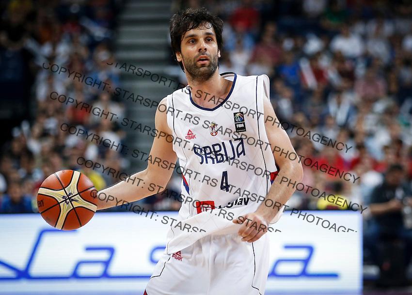 Kosarka-Basketball<br /> Srbija v Grcka-Prijateljski Mec<br /> Milos Teodosic<br /> Beograd, 28.06.2016.<br /> foto: Srdjan Stevanovic/Starsportphoto ©