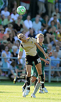 Leslie Osborne..Saint Louis Athletica tied 1-1 with F.C Gold Pride, at Anheuser-Busch Soccer Park, Fenton, Missouri.
