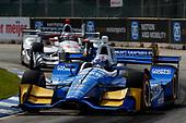 Verizon IndyCar Series<br /> Chevrolet Detroit Grand Prix Race 2<br /> Raceway at Belle Isle Park, Detroit, MI USA<br /> Sunday 4 June 2017<br /> Scott Dixon, Chip Ganassi Racing Teams Honda<br /> World Copyright: Phillip Abbott<br /> LAT Images