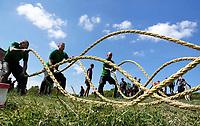 Nederland - Spaarnwoude - mei 2019. De Strong Viking Hills Edition. Obstacle Run in recreatiegebied Spaarnwoude. Foto mag niet in negatieve / schadelijke context gepubliceerd worden. Foto Berlinda van Dam / Hollandse Hoogte.