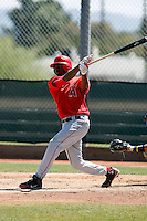PJ Phillips - Los Angeles Angels - 2009 spring training.Photo by:  Bill Mitchell/Four Seam Images