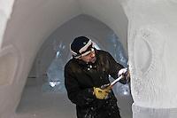 Europe/Finlande/Laponie/Levi: Luvattumaa Ice Gallery Hotel & Bar