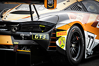 The rear end of Morgan Tillbrook & Marcus Clutton, McLaren 720S GT3, Enduro Motorsport during the British GT & F3 Championship on 10th July 2021