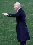 Real Madrid's coach Zinedine Zidane during La Liga match. November 19,2016. (ALTERPHOTOS/Acero)