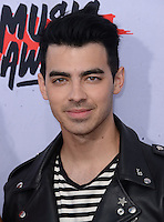 Joe Jonas @ the 2016 iHeart Radio Music awards held @ the Forum.<br /> April 3, 2016