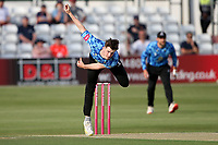 George Garton in bowling action for Sussex during Essex Eagles vs Sussex Sharks, Vitality Blast T20 Cricket at The Cloudfm County Ground on 15th June 2021