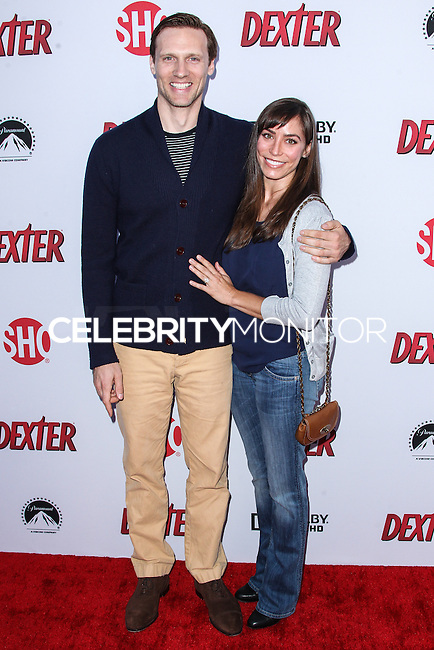 HOLLYWOOD, CA - JUNE 15: Teddy Sears and Milissa Skoro arrive at the premiere screening of Showtime's 'Dexter' Season 8 at Milk Studios on June 15, 2013 in Hollywood, California. (Photo by Celebrity Monitor)