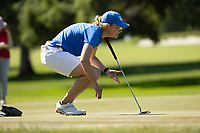 STANFORD, CA - APRIL 23: Annabel Wilson at Stanford Golf Course on April 23, 2021 in Stanford, California.