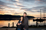 Matt + Eden on the Benicia waterfront for his engagement proposal.
