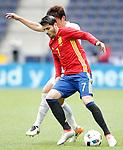 Spain's Alvaro Morata during friendly match. June 1,2016.(ALTERPHOTOS/Acero)