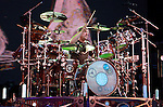 """Neal Peart of RUSH performs live at the opening night of """"An Evening with RUSH"""" Tour held at Hard Rock Casino Pavillion in Albuquerque, New Mexico on June 29,2010                                                                   Copyright 2010  Rod Tanaka / RockinExposures"""
